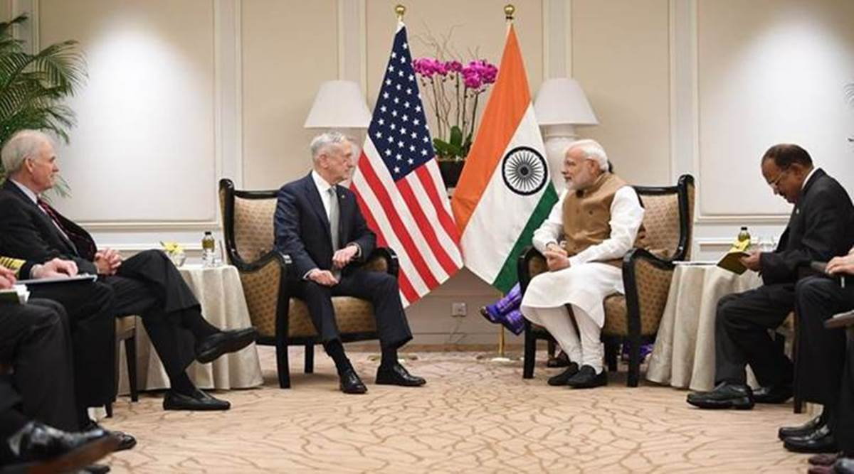 Modi discusses security related issues with Jim Mattis