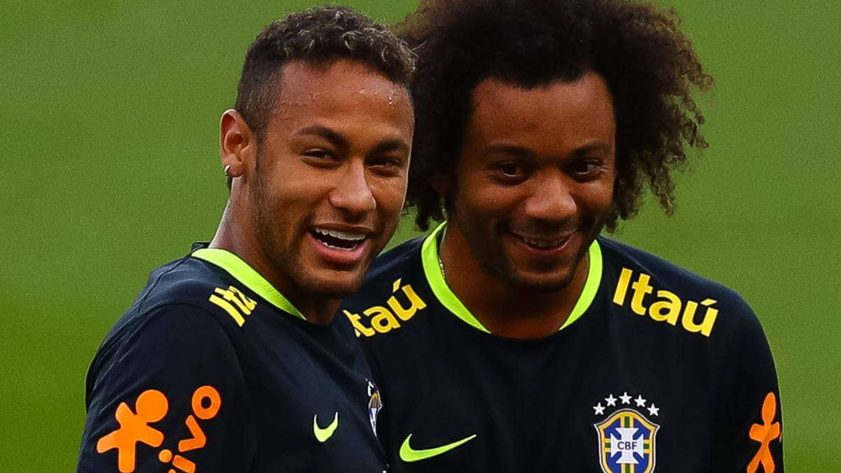 Neymar will be welcome at Real Madrid, says Marcelo