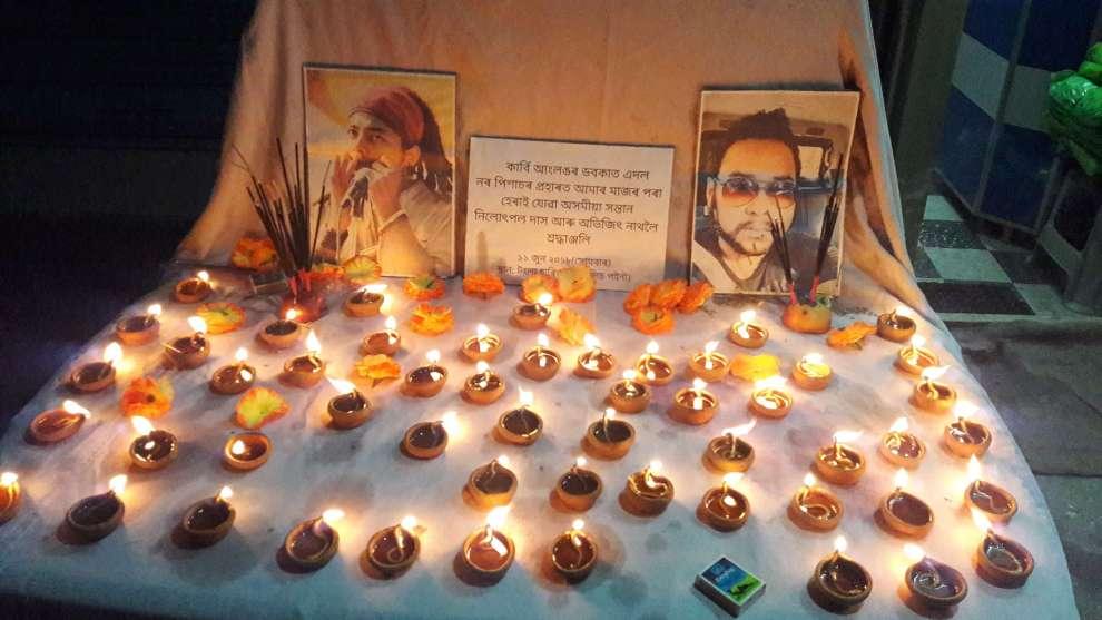 Peace rally, homage to Dokmoka victims