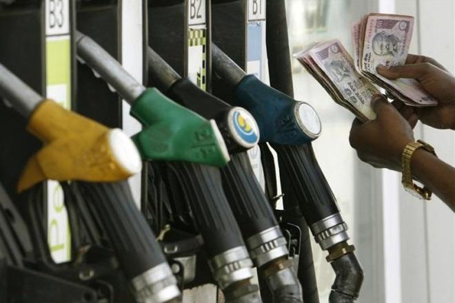 Petrol-diesel prices down 9 paise