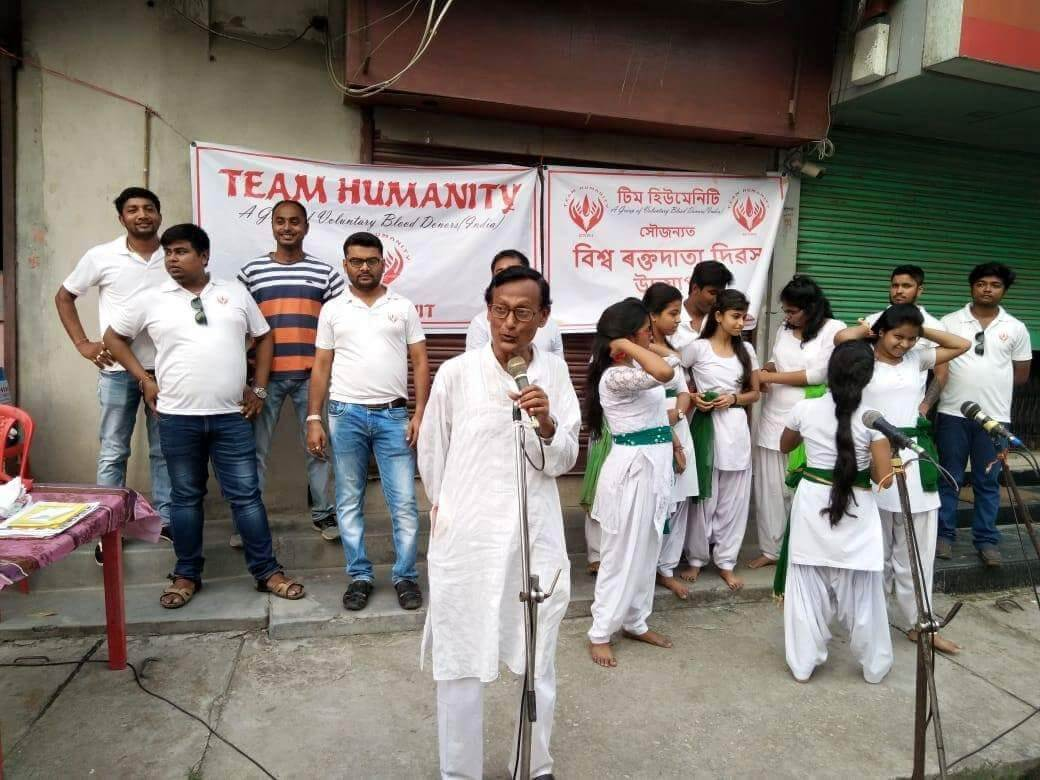 Street drama staged for awareness on blood donation