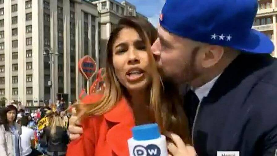 Reporter sexually assaulted on live TV