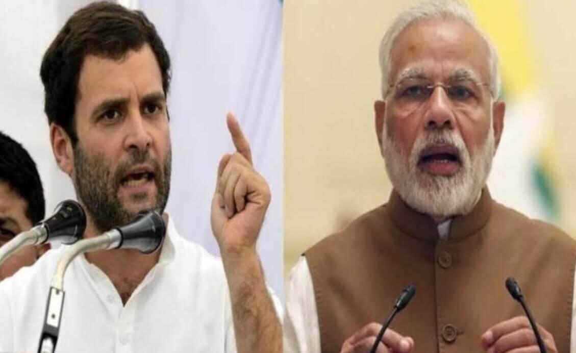Rahul Attacks Modi over women safety