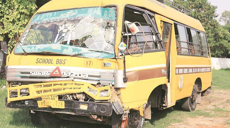 22 students injured in school bus mishap