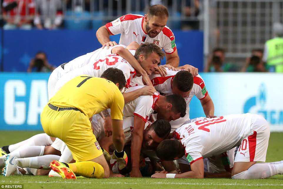 Kolarov stunner gives Serbia victory over Costa Rica