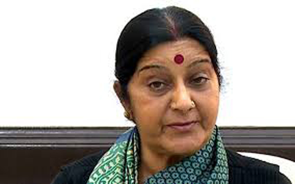 Sushma leaves for  S Africa