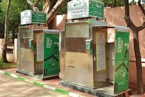 Sanitary toilets