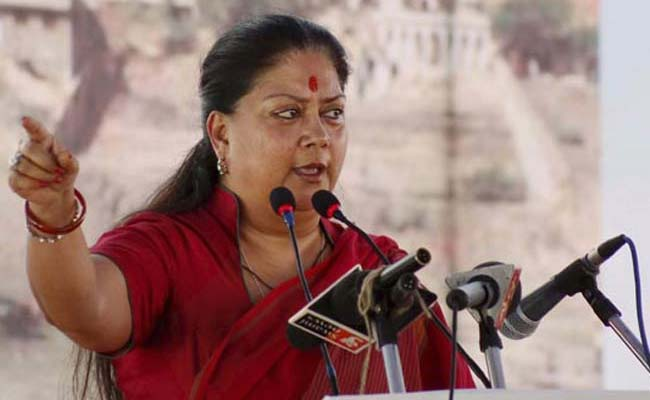 'Let Raje accept challenge of checking suicide by farmers'