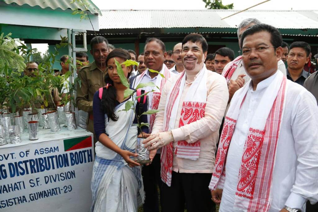 Vanamahtsava 69 underway at Rani  in Kamrup district
