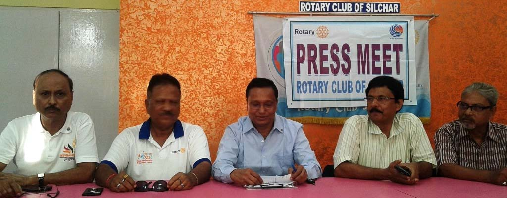 Installation ceremony of Rotary Club in Silchar