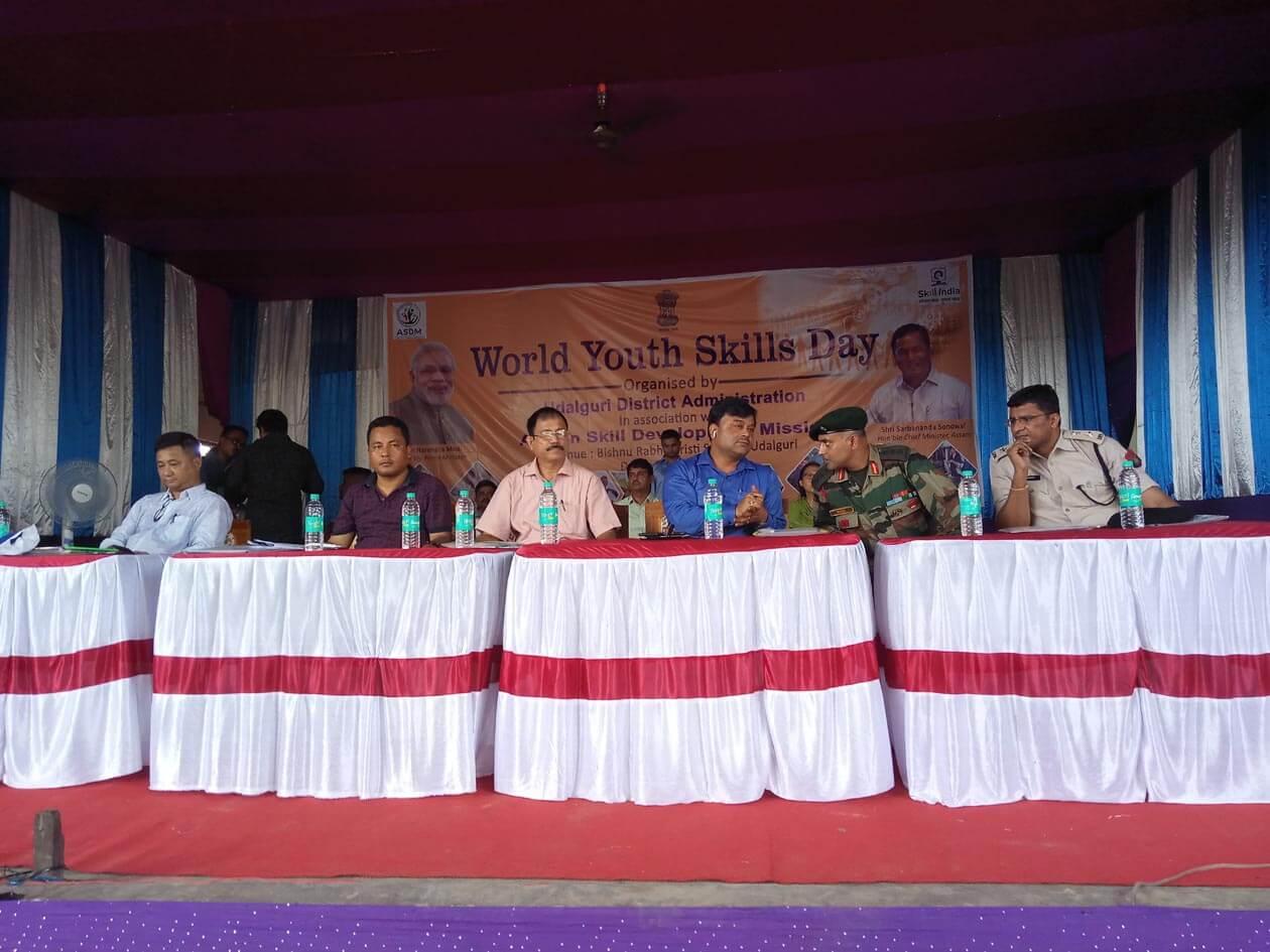 Recruitment Mela Based on Skillls of Youths Held  at Udalguri, Assam