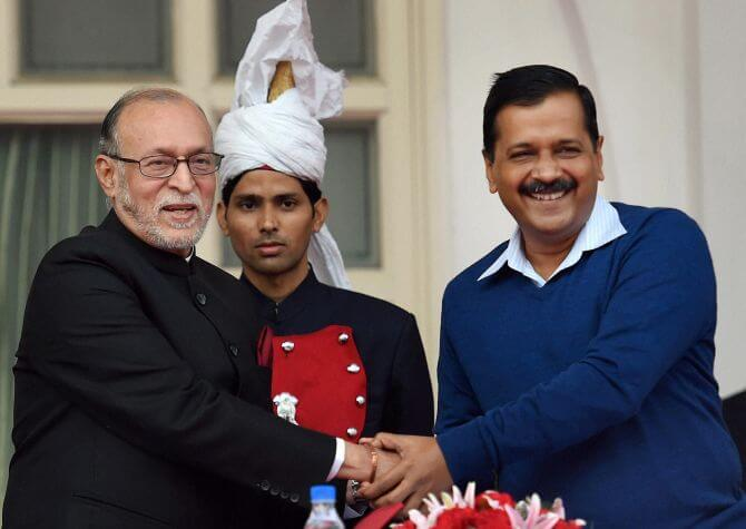 AAP wins Delhi power tussle with LG, Centre