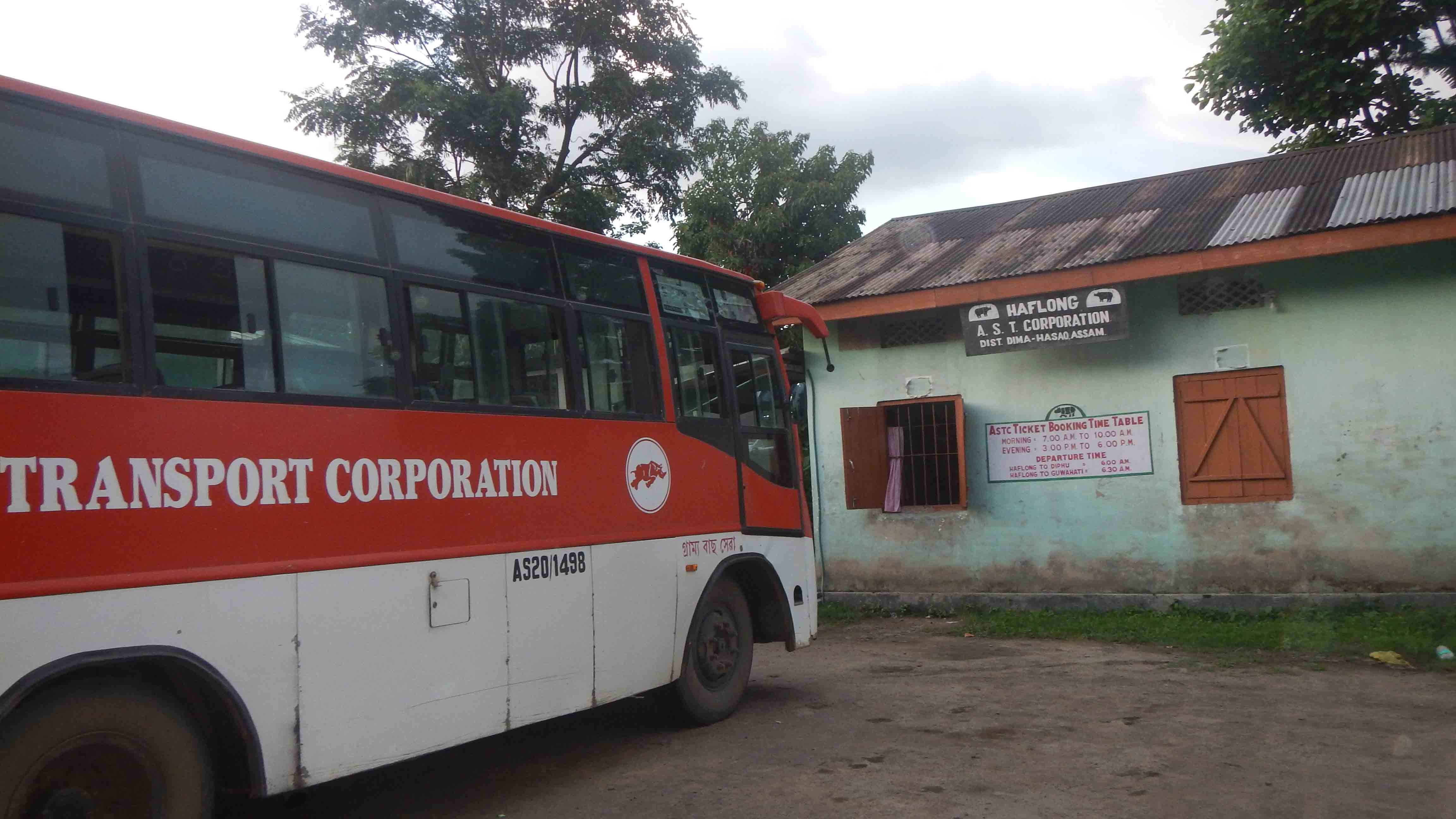 Assam State Transport Corporation service in Haflong in doldrums