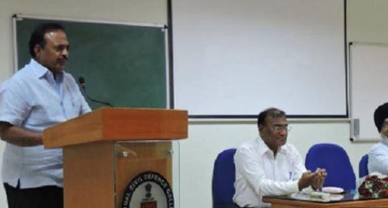 Raghvendra Awasthi officiating Director General Police of Meghalaya
