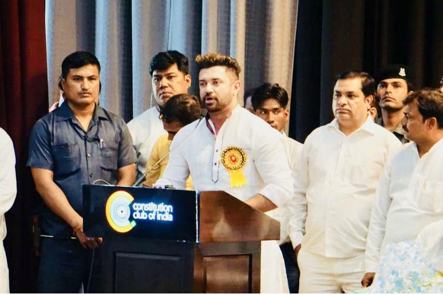 Lok Janshakti Party ( LJP ) mellows down on SC/ST Act, says it trusts BJP government