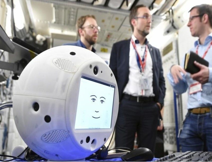 CIMON, The First AI Robot To Go On Space