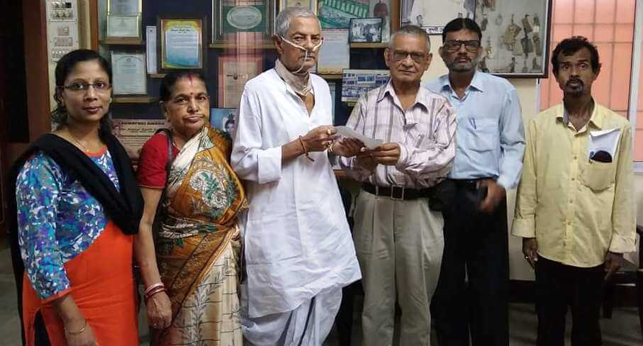 Karimganj cancer patient donates for poor
