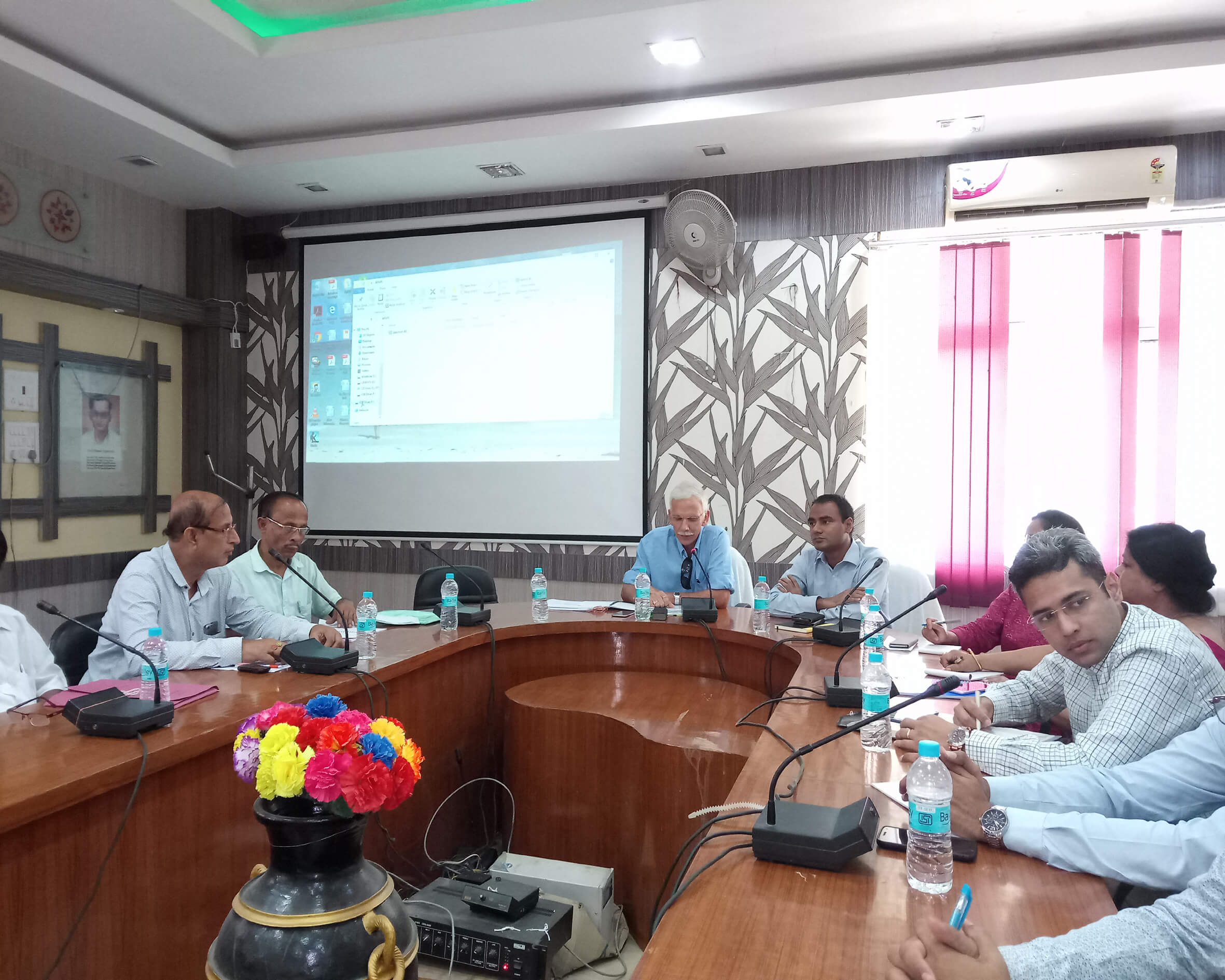 Central team reviews development projects in Dhubri