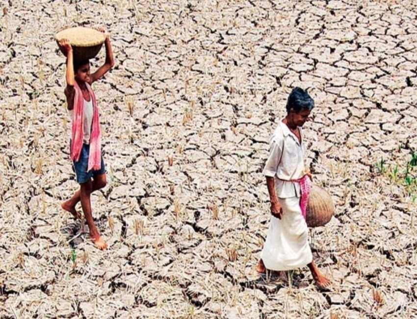 Deficit rainfall in North East triggers Drought Fear amongst Farmers