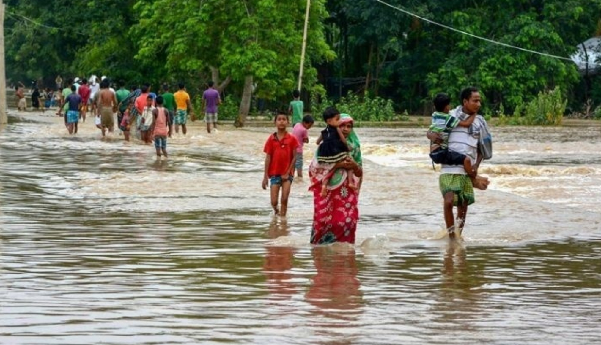 Flood waters recede in Hailakandi district