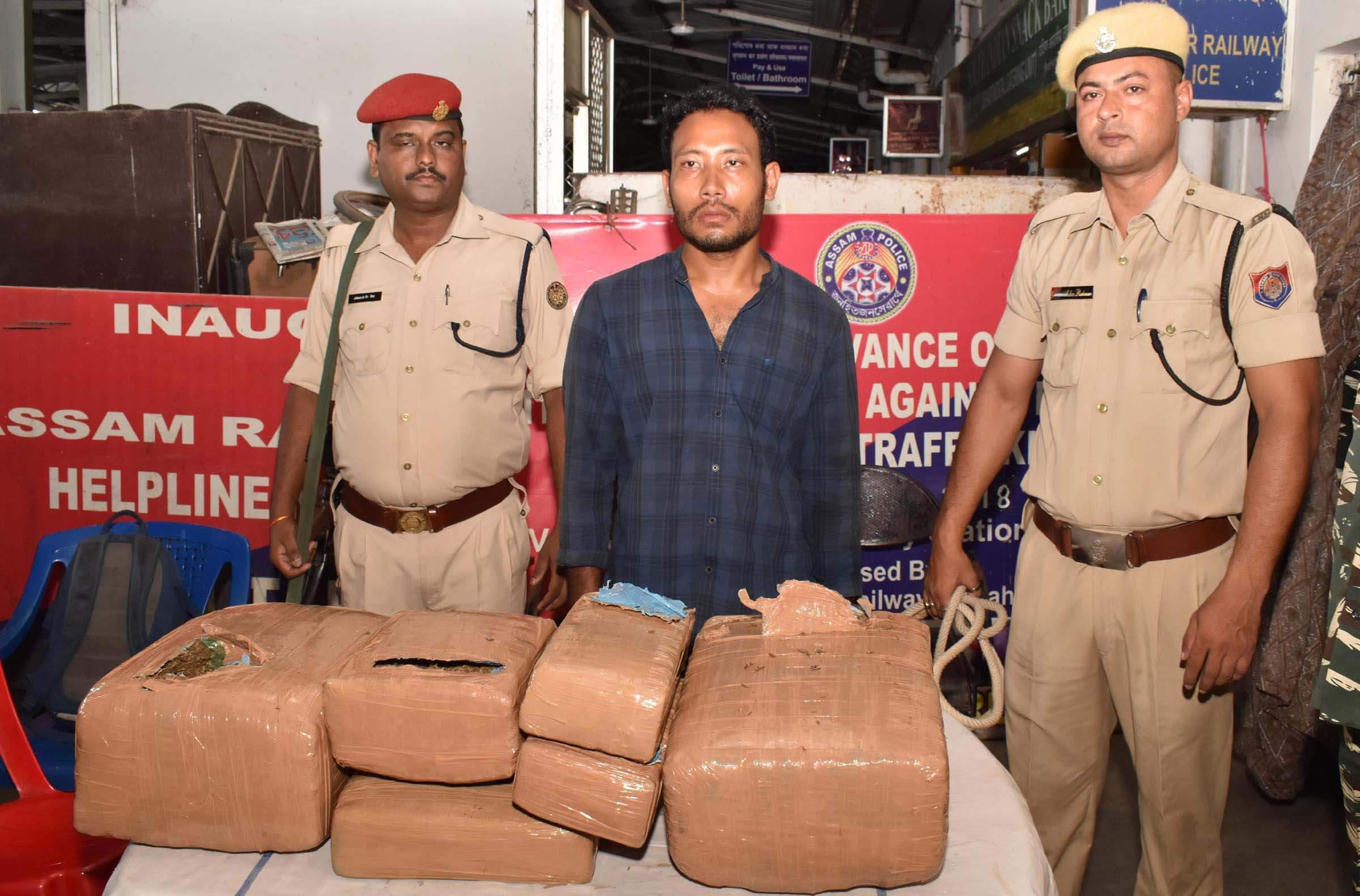 GRP seizes 430.5 kg  ganja in past five months
