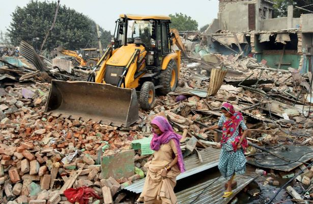 Over 80 houses razed in Manipur's forest area