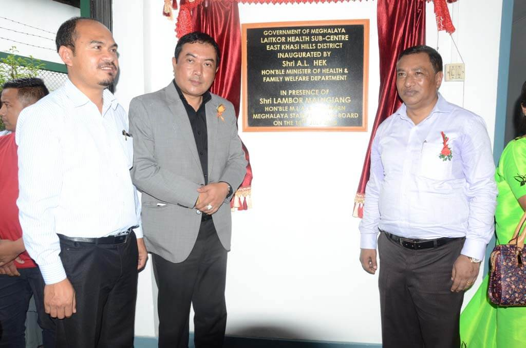 Laitkor health sub-center inaugurated
