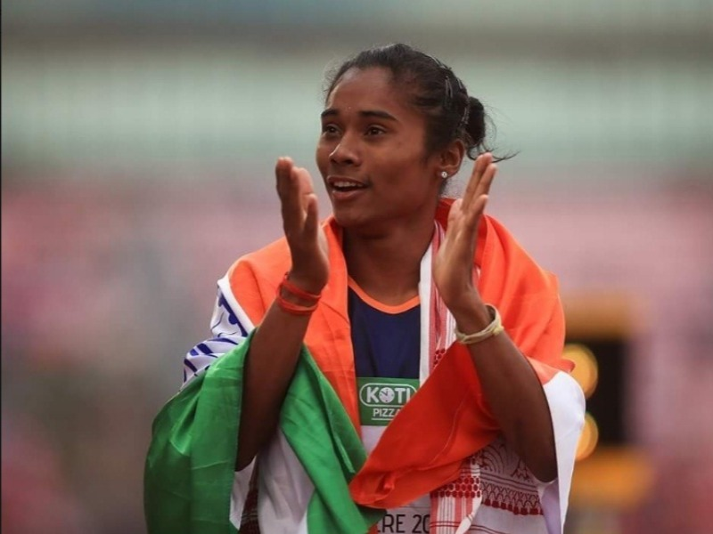 AFI tweet on Athlete Hima's 'English skills' irk Assam, Twitteratis Slam federation!