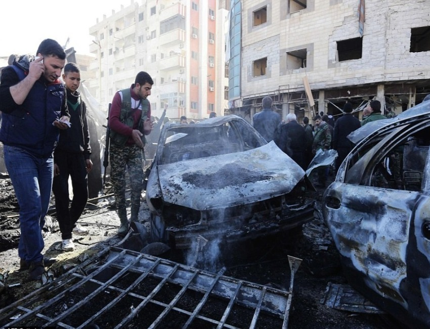 Islamic State (IS) Carries Out Suicide Bombings in Syria