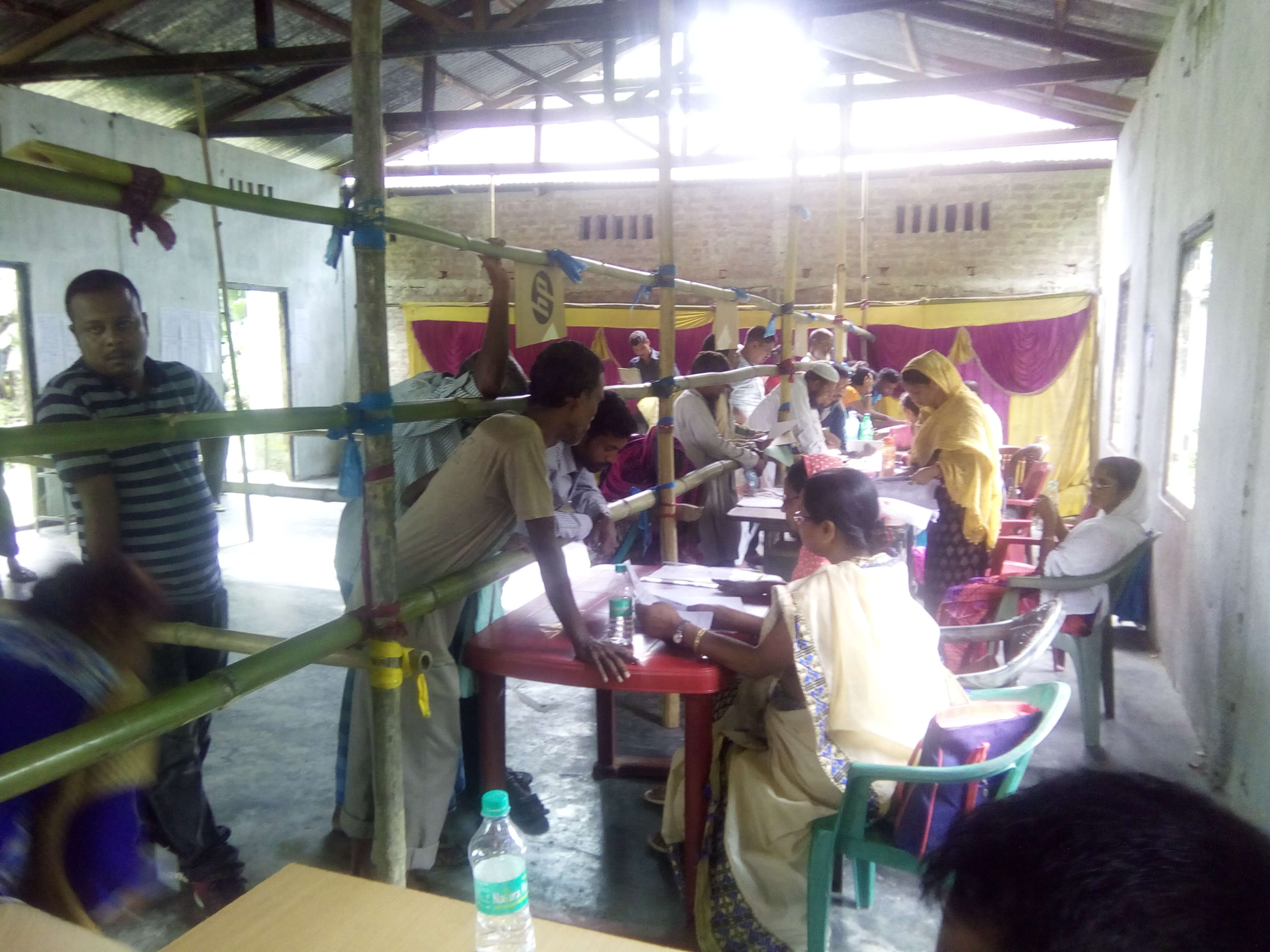 Lakhimpur District of Assam Witnesses Peaceful Situation after the Final Draft Publication of National Register of Citizens on Monday