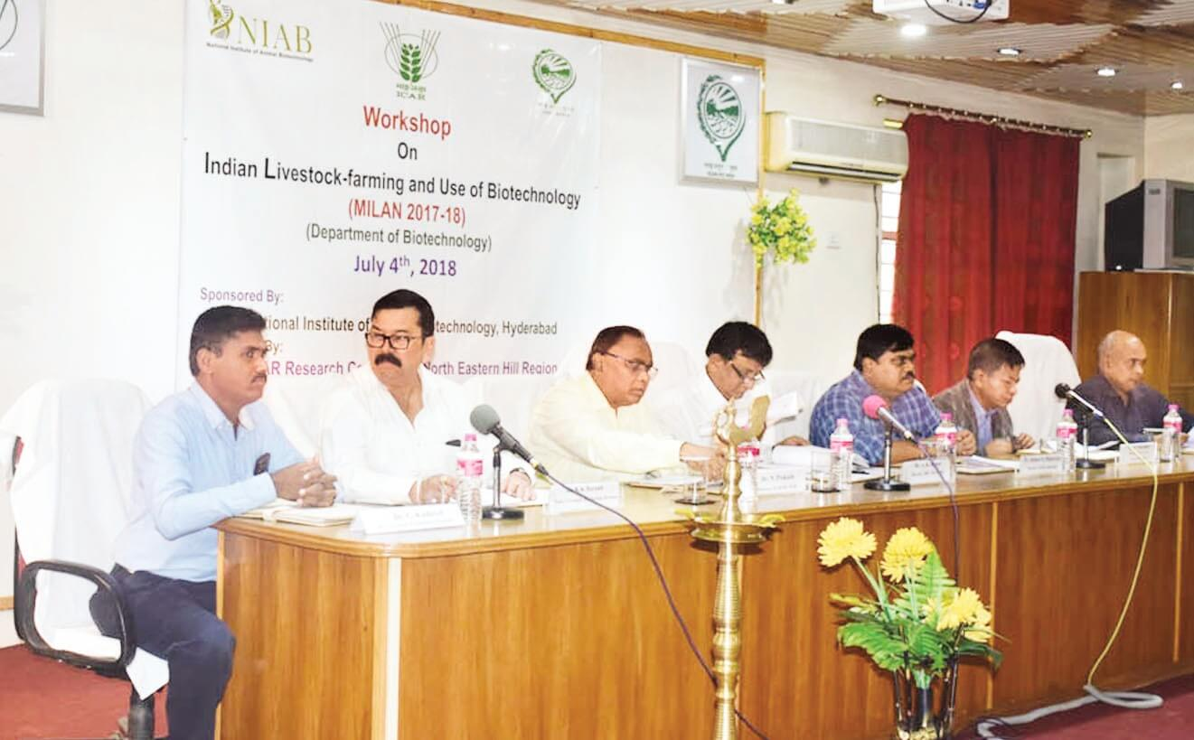 Workshop on livestock sector held