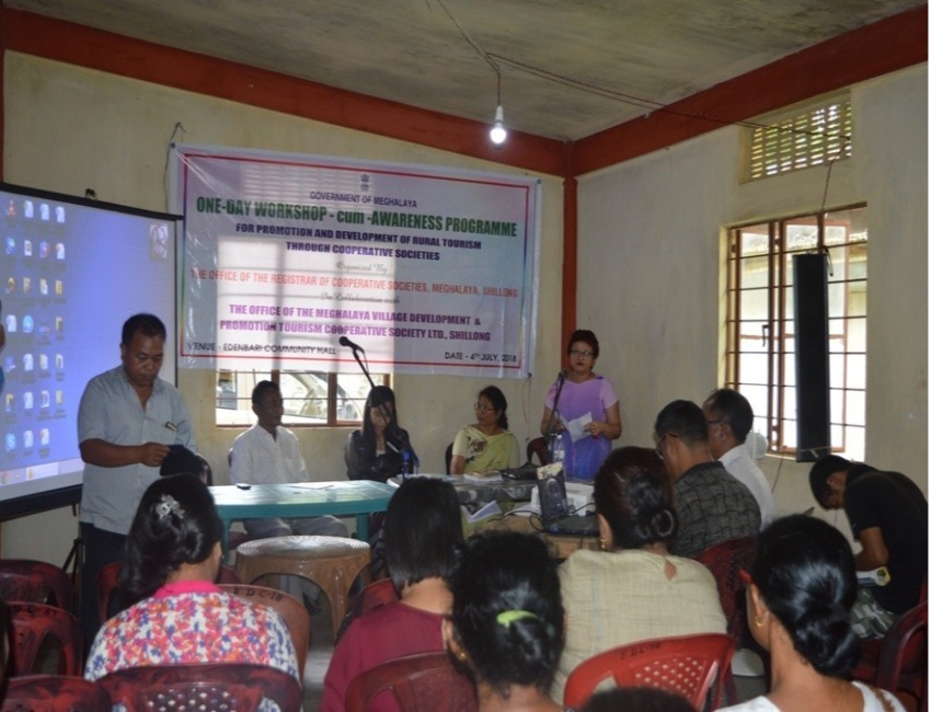 Workshop on Promotion and Development of Rural Tourism held at Shillong