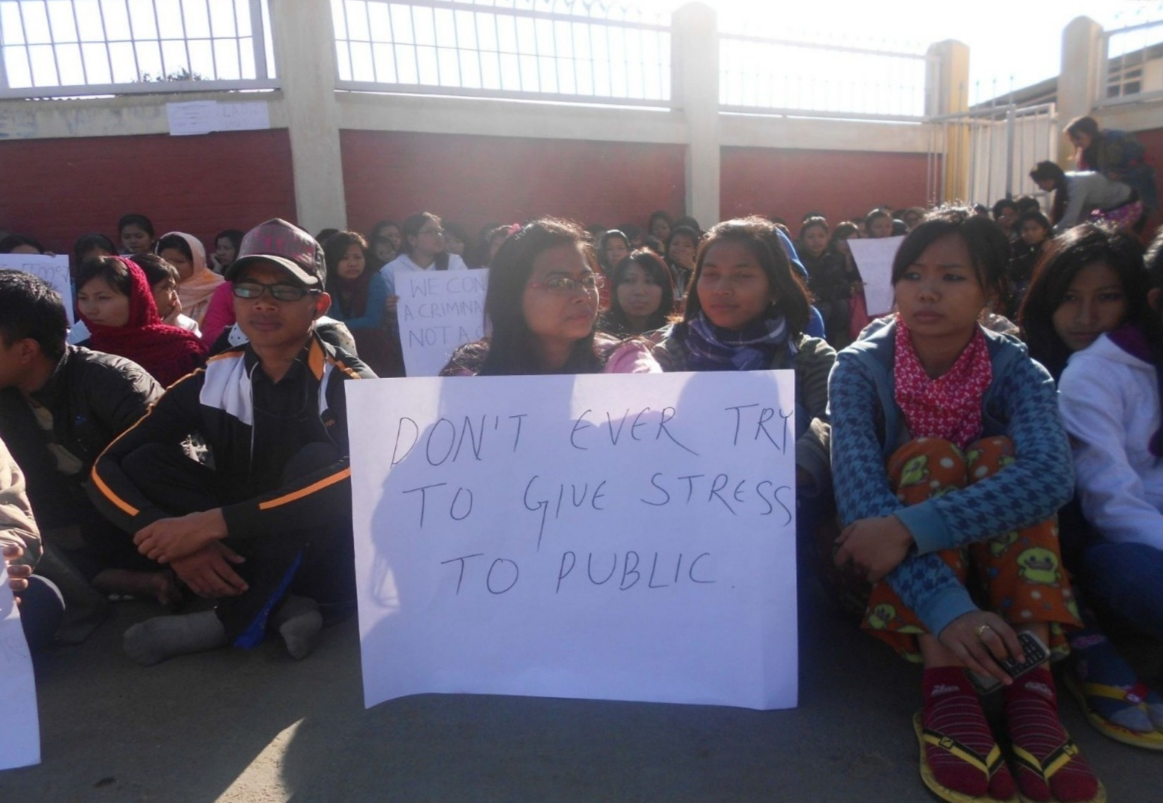 Manipur University Protest - A Dead End?