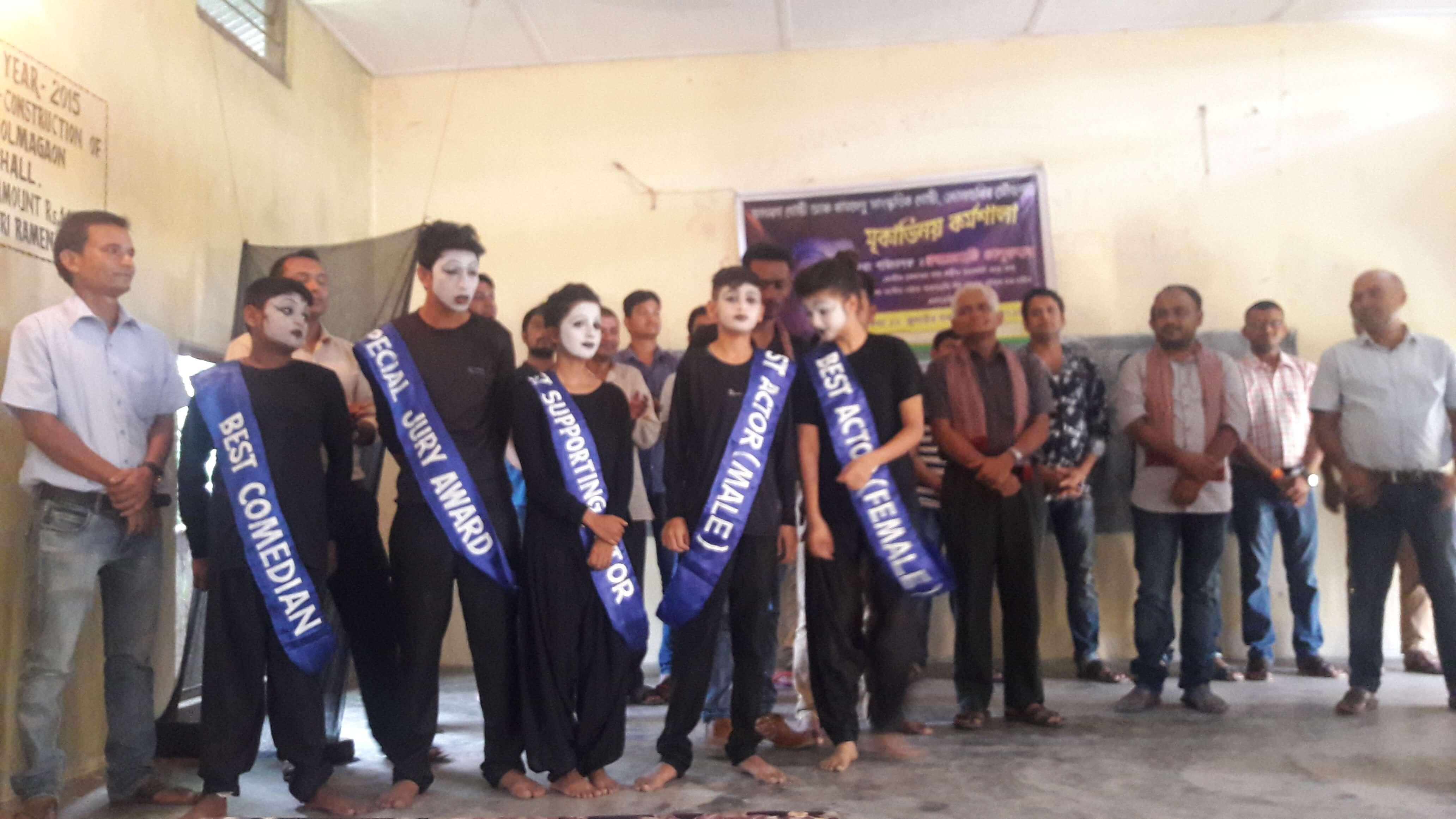 Mime Workshop Ends at Udalguri, Assam