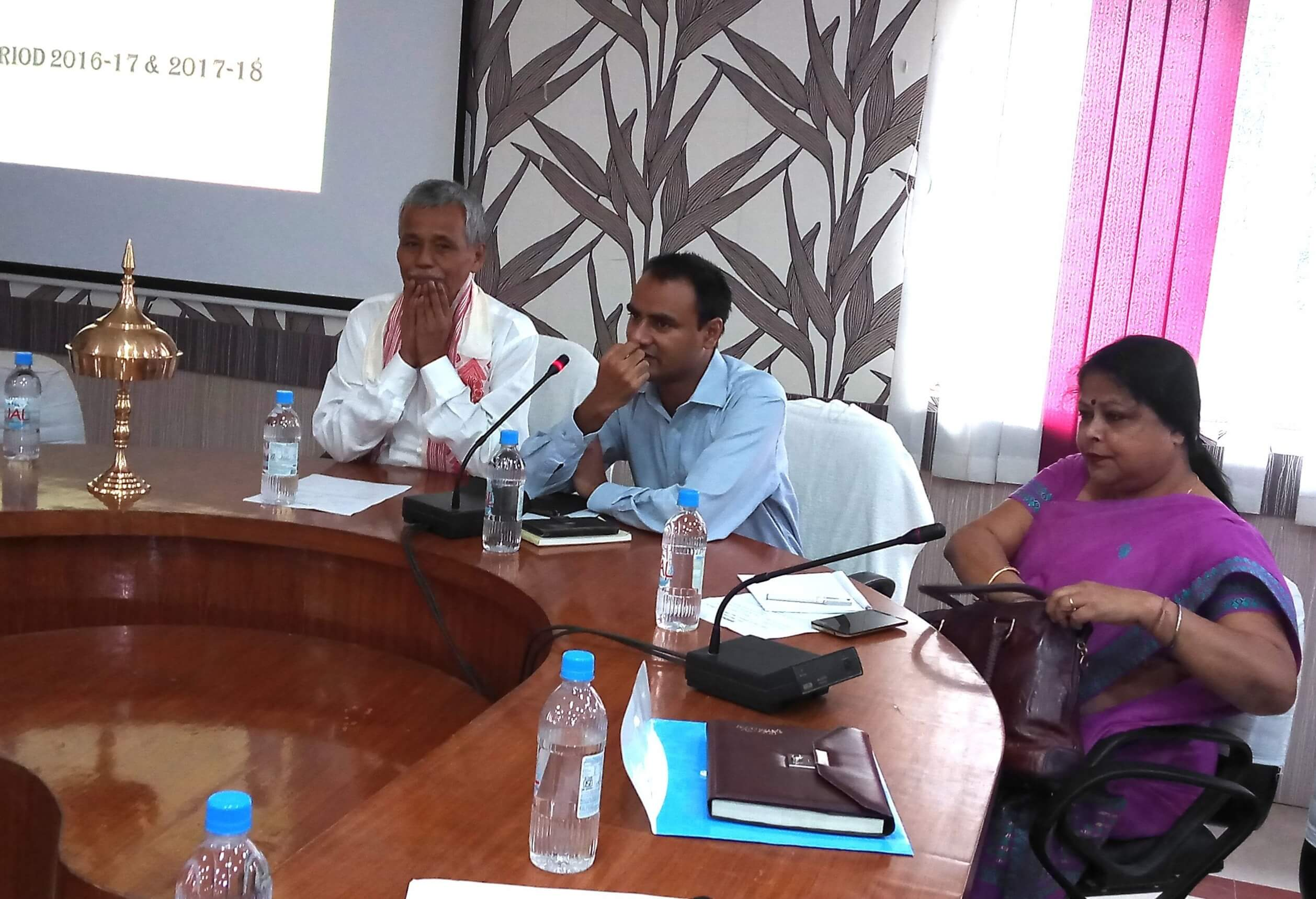 Minister reviews development works in Dhubri