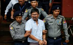 Myanmar urged to withdraw charges against Reuters reporters