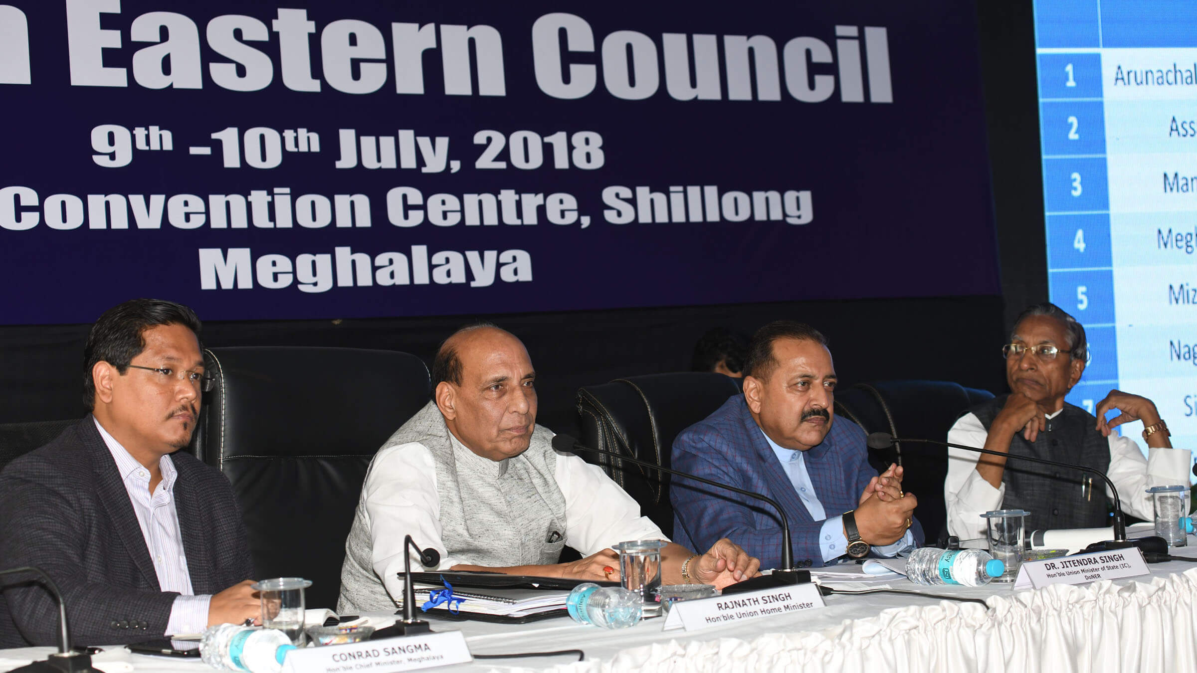 Take advantage of improving security: Union Home Minister Rajnath Singh to Northeast