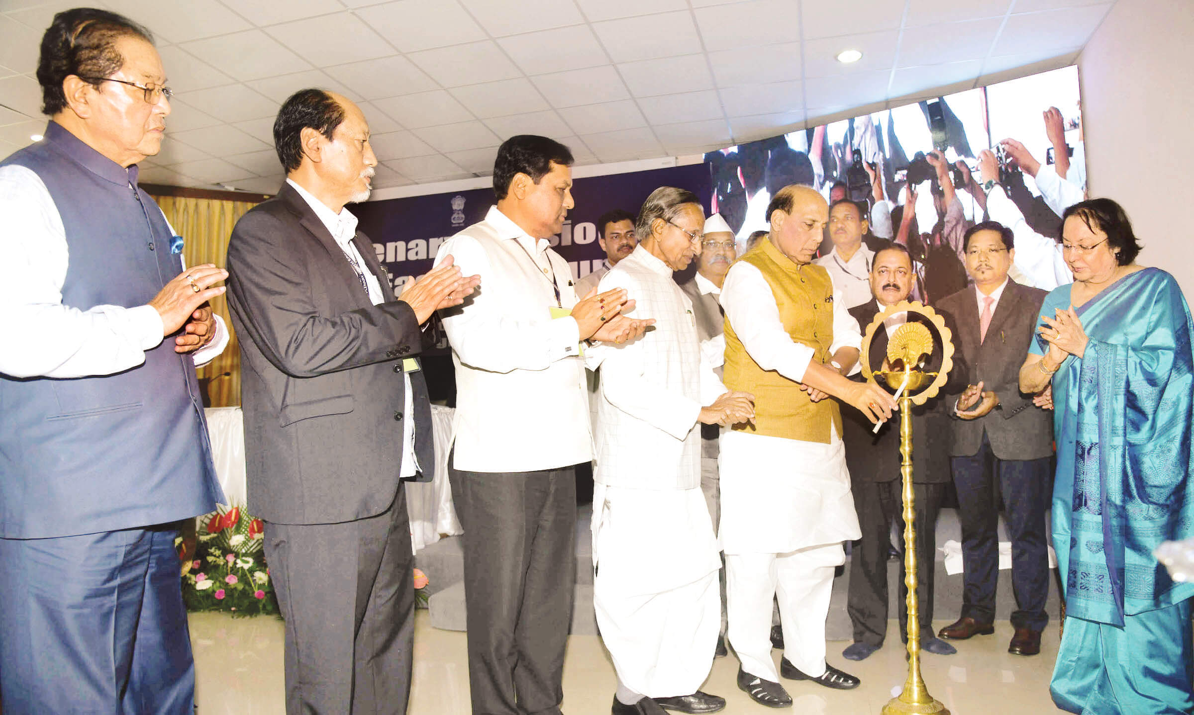 Expedite projects, use funds:  Union Home Minister Rajnath Singh  to North Eastern Council (NEC)
