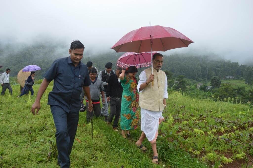 Union Minister Radha Mohan Singh urges for more organic farming in Shillong