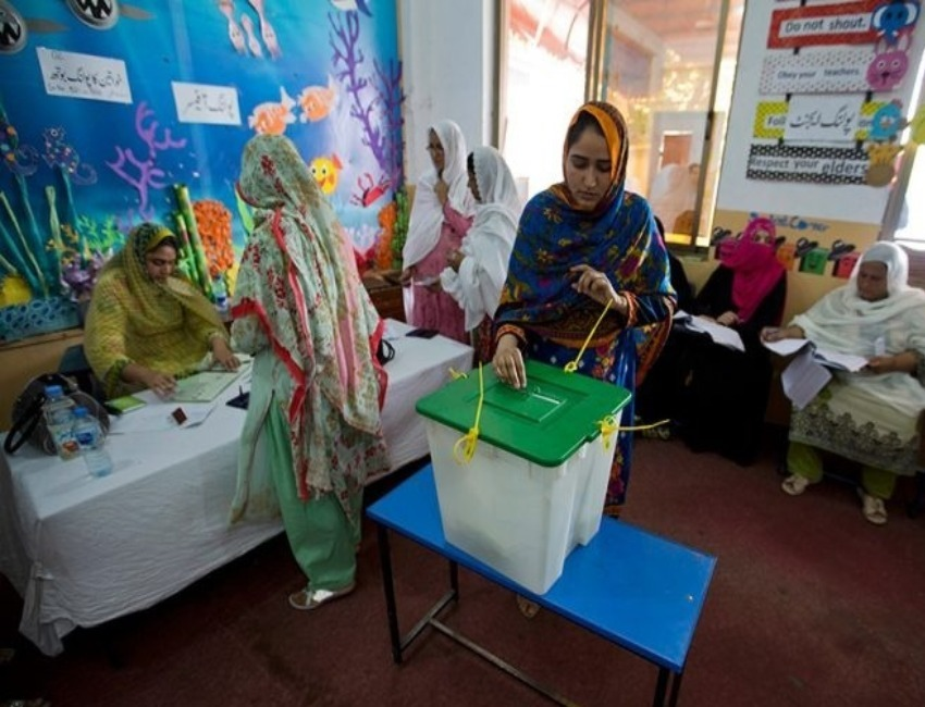 Pakistan Elections: Women in Parts  of Pakistan Vote for First Time