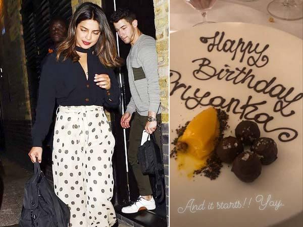 Priyanka turns 36, celebrates in London