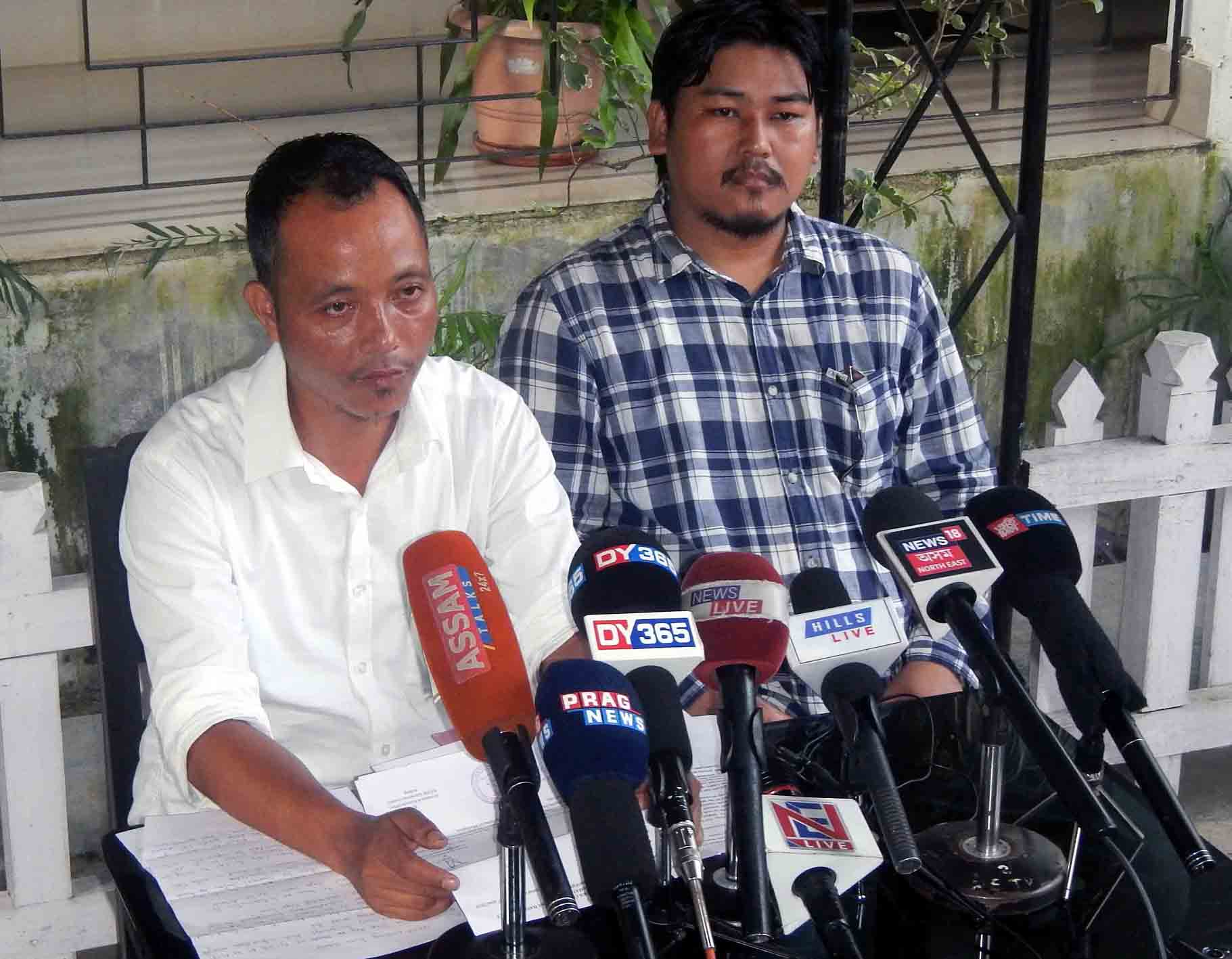 Right To Information (RTI) activist of Dima Hasao dissatisfied with reply of NC Hills Autonomous Council