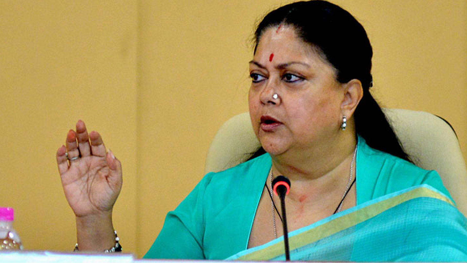 'Lynching not reality of  Rajasthan' says Chief Minister Vasundhara Raje