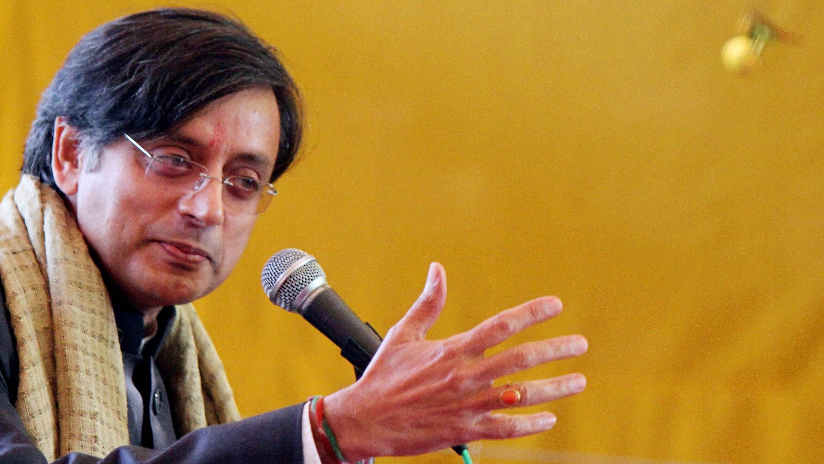 Central governments underspending on health, education: Congress MP Shashi Tharoor