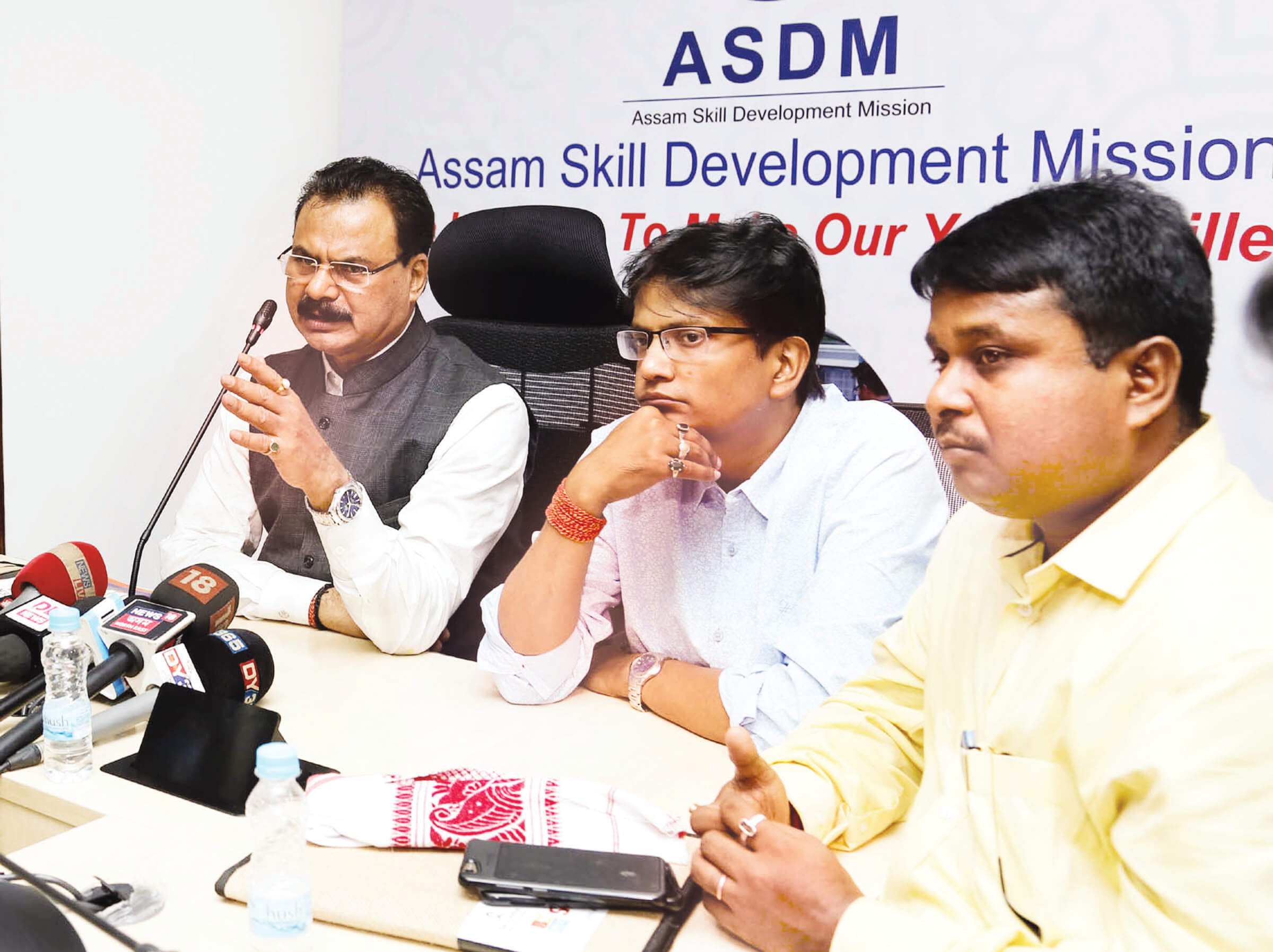 Minister Chandra Mohan Patowary spells out Skill Development Mantra