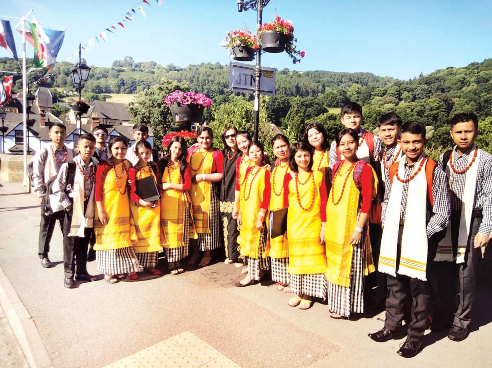 Shillong choir group to perform in Wales