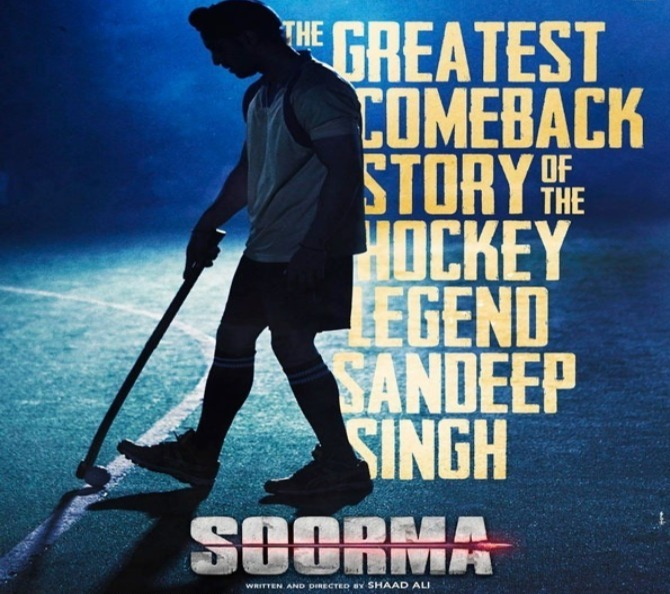 One Word for Soorma: Heart Warming: Says Taran Adarsh