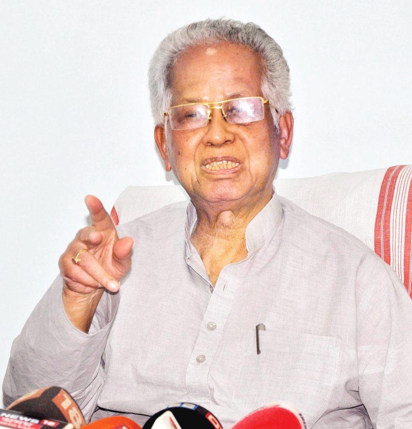 Ex Assam Chief Minister Tarun Gogoi warns against BJP's moves