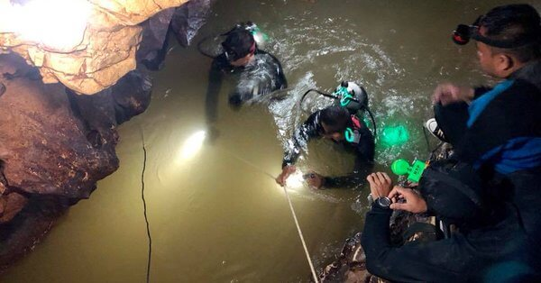 4 more boys rescued by divers