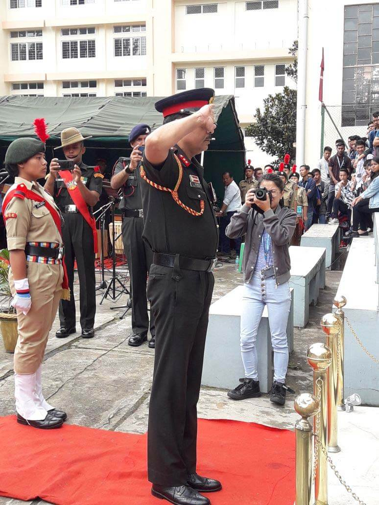 Befitting tribute to late Capt K Clifford Nongrum at Shillong